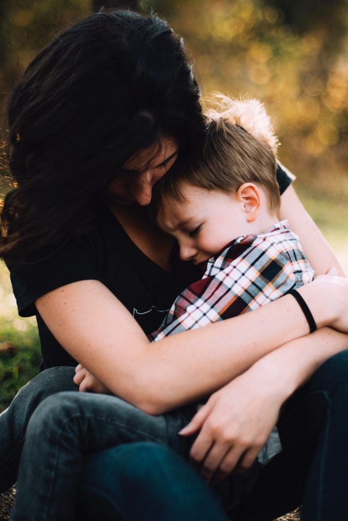 mama y niño